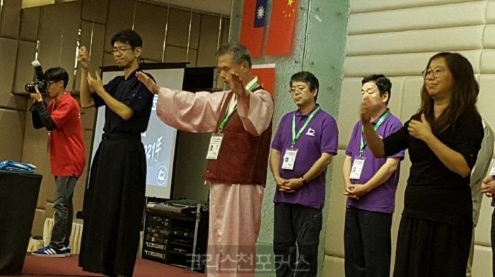 이영빈목사,아시아농인기독교인펠로우십회장피선