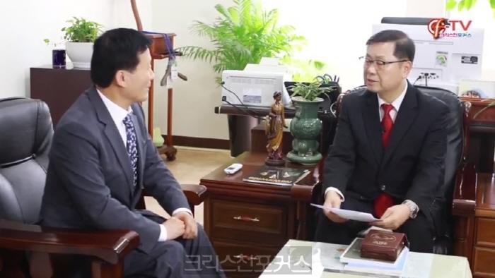 [크포TV] 인터뷰/ GMS 신임 이사장 김정훈 목사