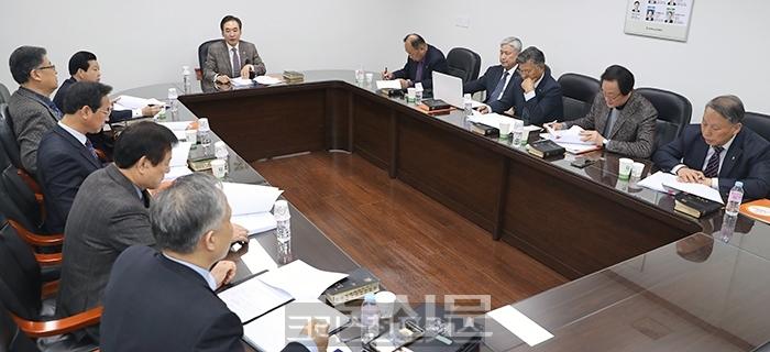 총회 임원회, 윤익세 불법조사 소위원회 구성해