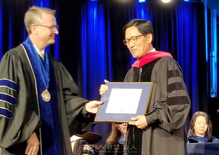 양대식 목사, 미국 저드슨대학교 명예신학박사 취득